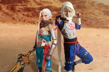Hyrule Warriors - Sheikahs by Rei-Suzuki