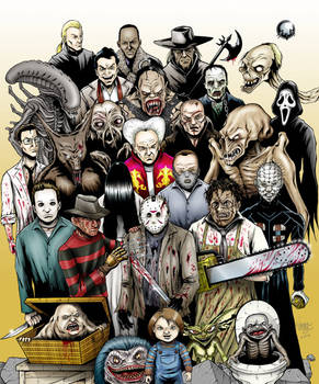 Classic Modern Monsters