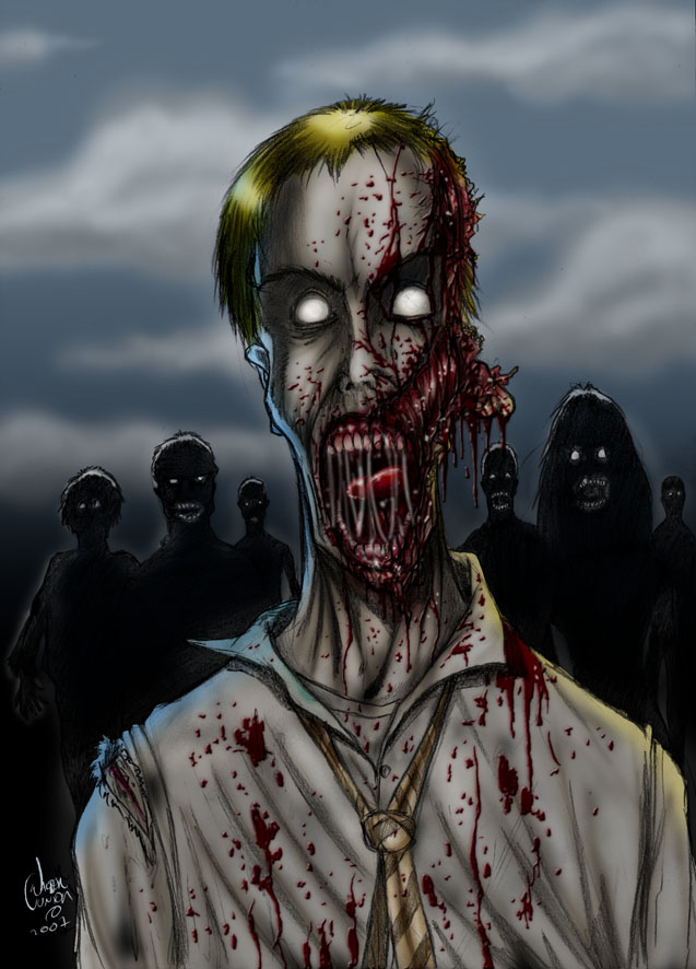 Those Damned Zombies by wallyjunior