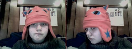 Orange Cat Hat by Azaryth