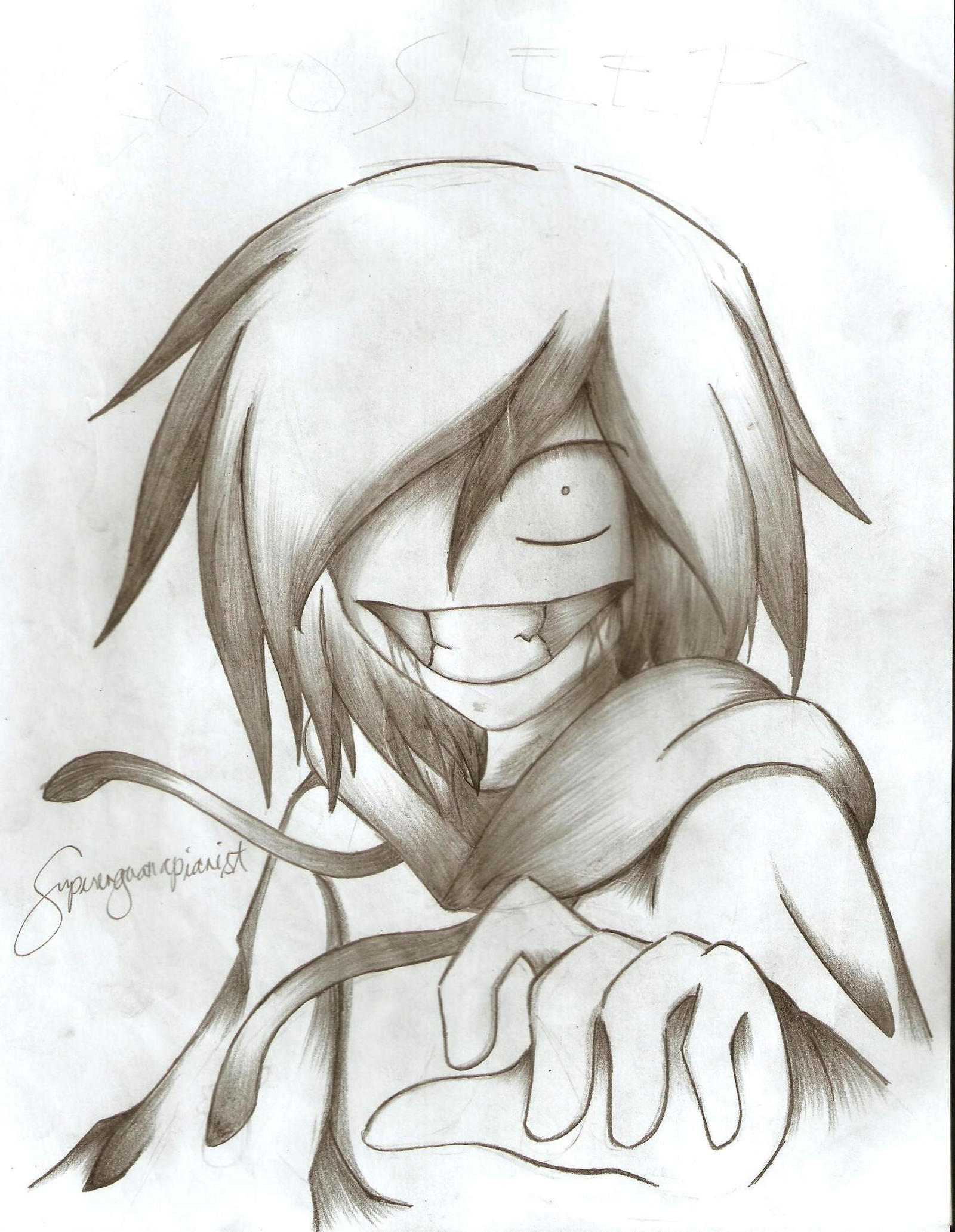 JEFF THE KILLER by superenguanapianist
