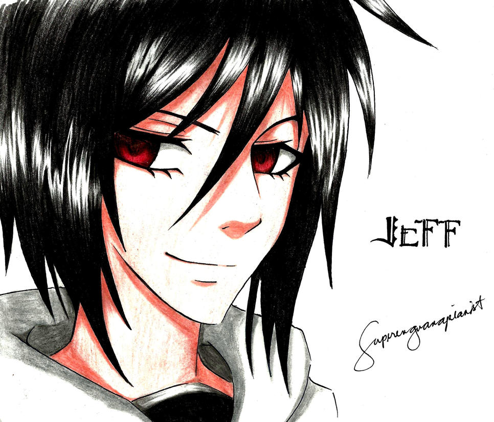 One hell of a fangirl for jeff the killer