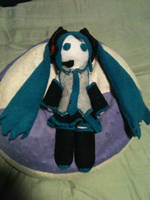 Miku Plush by Ginger-Storm