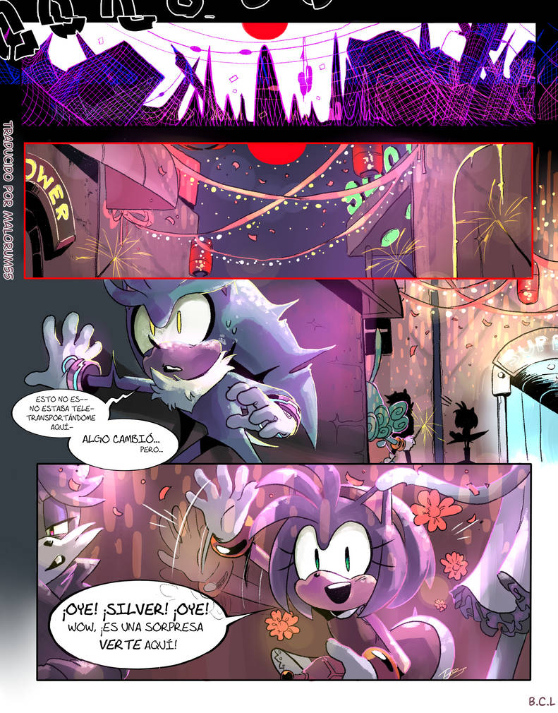 Sonic - Phantom Forces Chapter 02 page 13 Spanish by Malorum55