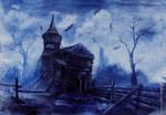 Traumbild Friedhof by Lady-Kira-Night