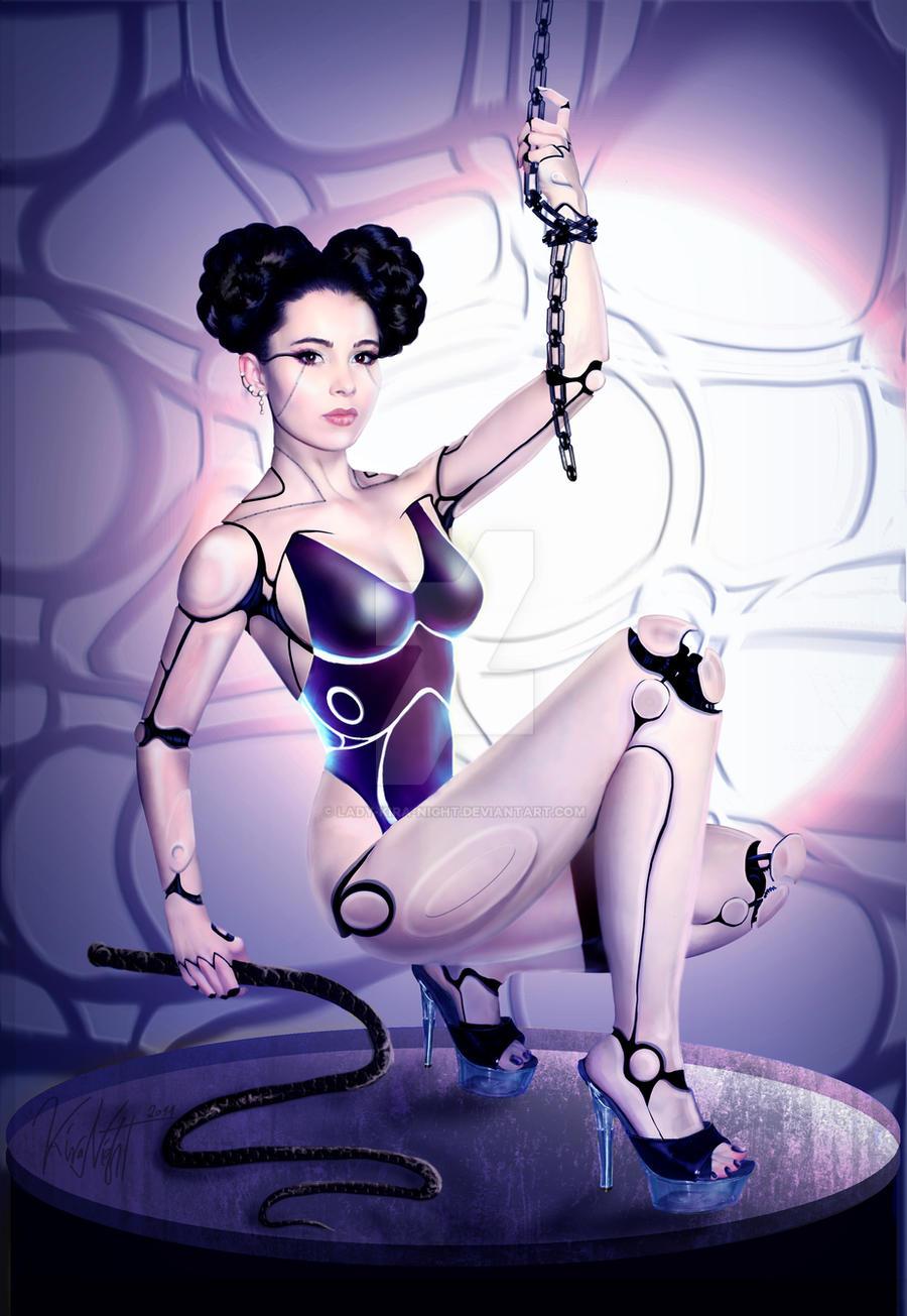 Cyborg remains by Lady-Kira-Night