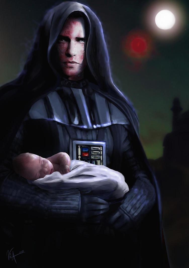 Anakin Skywalker / Darth Vader by Lady-Kira-Night