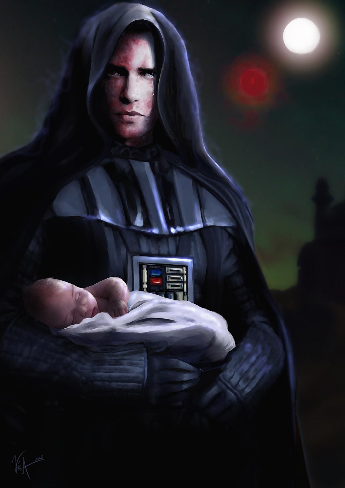 Anakin Skywalker / Darth Vader by Lady-Kira-Night
