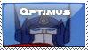 Optimus Prime G1 stamp by googlememan