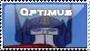Optimus Prime G1 stamp by googlememan