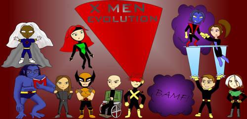 X Men Evolution Chibi by doodleavc14