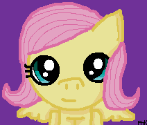 Fluttershy-I Tried Drawing A Pony by Ayleia-The-Kitty