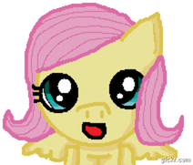 Fluttershy Hi Animation by Ayleia-The-Kitty