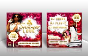 Summer Love Flyer by kejdi