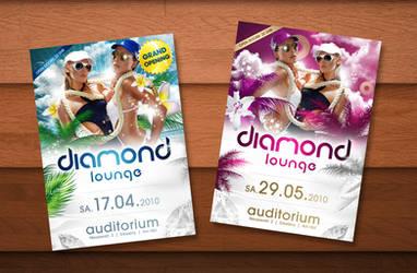 Diamond Lounge Flyer
