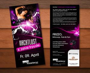 tryy.de Party Flyer