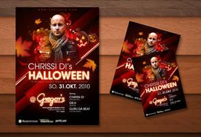 Halloween Flyer by kejdi
