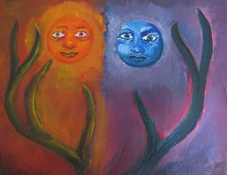 celestial procession by eko-vision