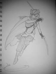 Captain Jasmine Harcourt by The-Sapphire-Spirit