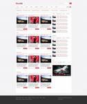 News site Web layout