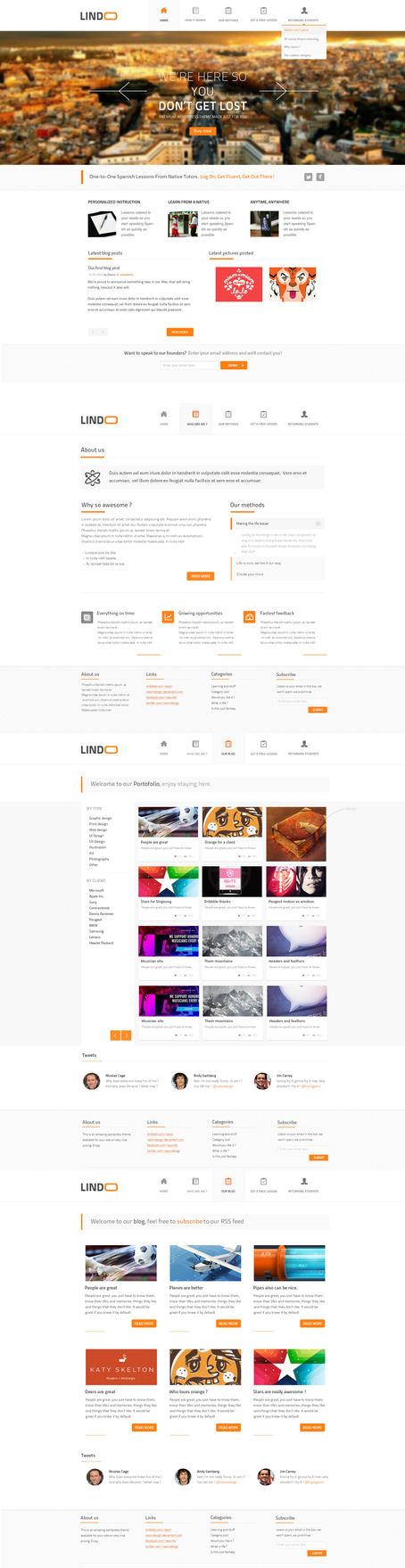 Lindoo Web design by RasonDesign