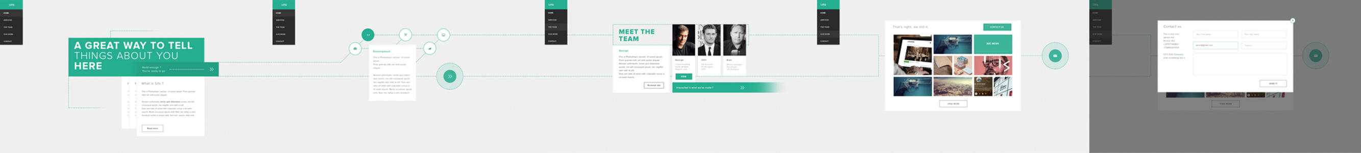 Agency site - Client work by RasonDesign