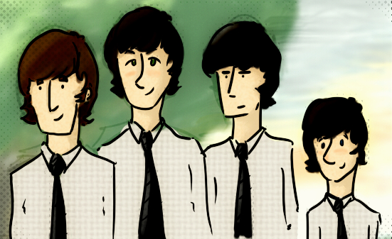 the beatles by thaynaitor