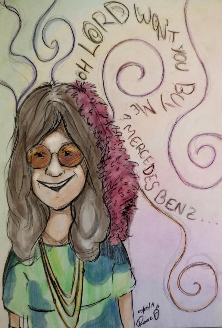 Janis Joplin by thaynaitor