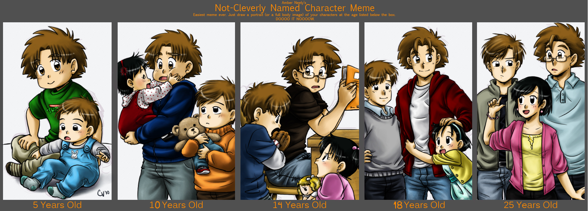 7 Year Old Anime Characters : Character age meme william by camlost on deviantart