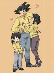 matching sweaters by camlost