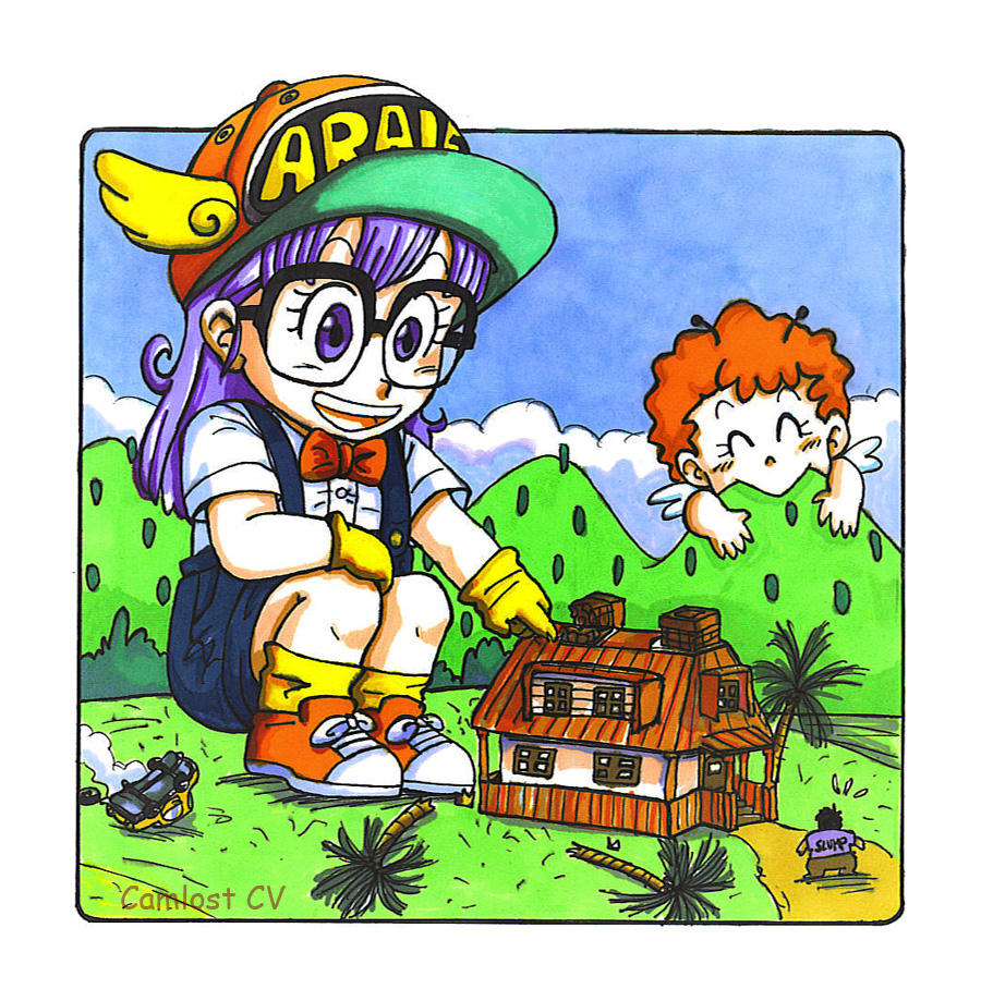 Request :flintofmother: Arale By Camlost On DeviantArt