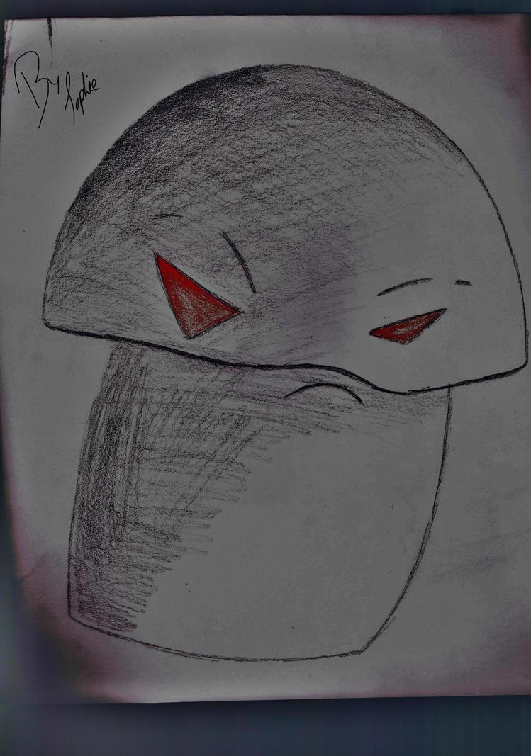 how to draw a doom shroom