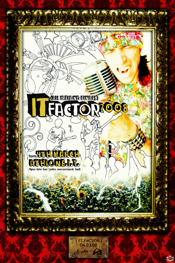 IT FACTOR 2008 - POSTER by awakenasleep