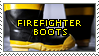 Firefighter Boots Stamp by icefoxx