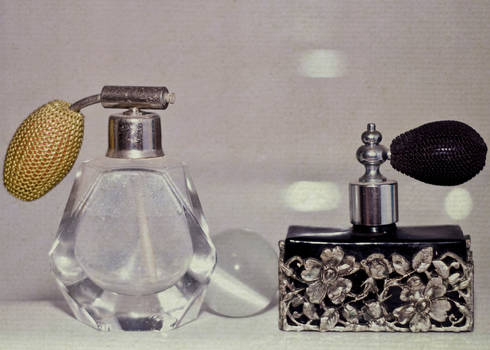 A woman's perfume.....