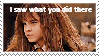Hermisawwhatyoudidthere stamp by TopHat-Kisses
