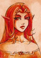 Din Portrait by Firefly-Raye