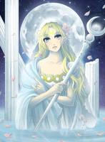 Moon Princess by Firefly-Raye