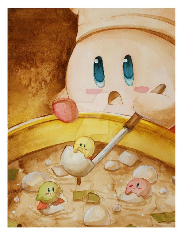 Miso Kirby by Firefly-Raye
