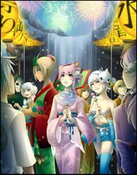 Pokimono Quest 2 - Sky Village by FireflyRaye