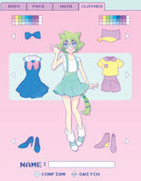 Character Creation by FireflyRaye