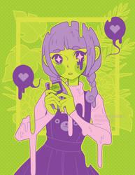 Drip Girl by Firefly-Raye