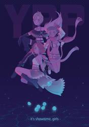 It's Showtime, Girls by Firefly-Raye