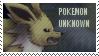 Pokemon Unknown -stamp by hitodama89