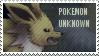Pokemon Unknown -stamp