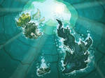 TWWM Waterways Quest: The Onerous Stone 2 by hitodama89