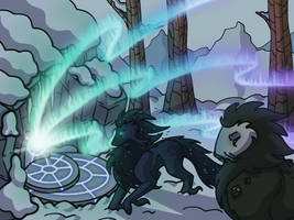 TWWM Shattered Peaks Quest: Clouds Fade into Snow