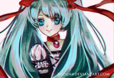 Hatsune Miku by Xylica
