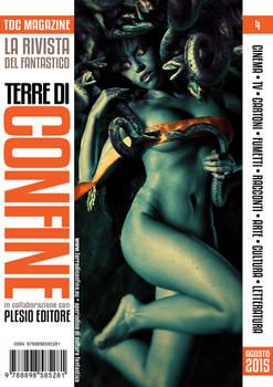 Fata Medusa, Terre di Confine Magazine 4 Cover