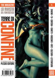 Fata Medusa, Terre di Confine Magazine 4 Cover by MaxDeFa